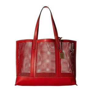 Frye Tote in Cherry Red