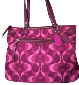Coach Tote in Berry