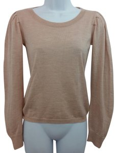 Chloé Chloe Blush Wool Knit Sweater