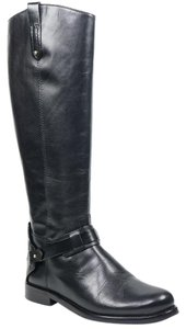 Tory Burch Derby 8 Riding Boot Tall Black Boots