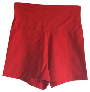 American Apparel Mini/Short Shorts Red