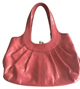 Coach Pretty In Like New Versatile Satchel in Pink Ergo Pleated Bag