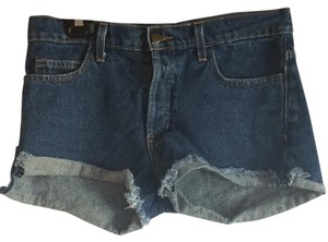 American Apparel Cut Off Shorts Denim