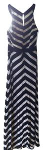 Black & White Maxi Dress by White House | Black Market Maxi Pinstripe