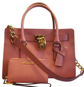 Michael Kors Satchel in Misty Rosr