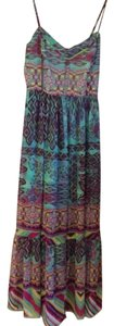 Turquoise Maxi Dress by Betsey Johnson