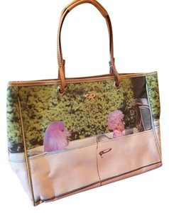 Anya Hindmarch Canvas Poodle Tote in Pink