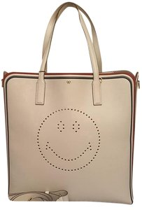 Anya Hindmarch Ebury Tote in CHALK