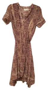 ZIMMERMANN Silk Print Dress
