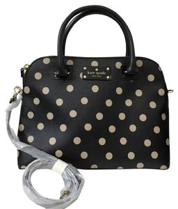 Kate Spade Tote Maise Satchel in Pink Black