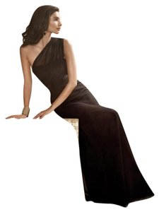 Jim Hjelm Occasions Bridesmaid Chiffon Elegant Black Tie Dress