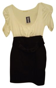 Poetry Belted Empire Waist Dress