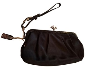 Coach Diamond Evening Wristlet in Black