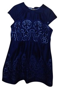 Eshakti short dress Navy on Tradesy