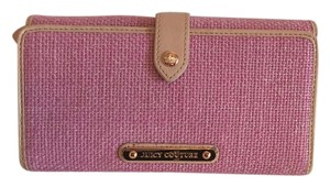 Juicy Couture Juicy Couture Trifold Metallic Wallet