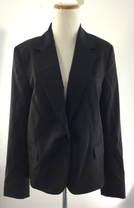 Theory Gabe Cutaway Custom Work Black Blazer