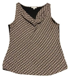CAbi Top Pink and Black
