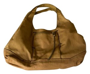 Kooba Natural Leather Hobo Bag
