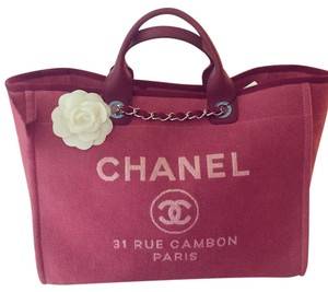 Chanel Tote in Red/Pink