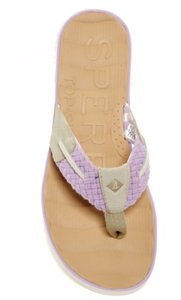 Sperry Top Womens Lavender & Tan Sandals