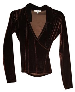 Rampage V Neck Sexy Fall Velvet Sweater