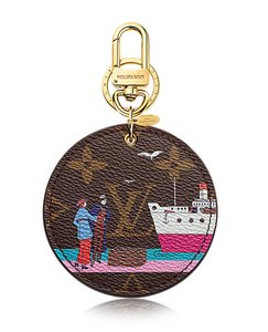 Louis Vuitton Louis Vuitton Monogram ILLUSTRE EVASION BAG CHARM & KEY HOLDER