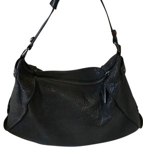 Kenneth Cole Leather Pebble Leather Hobo Bag