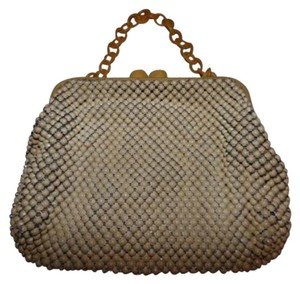 Whiting & Davis Art Deco Flapper Hobo Bag