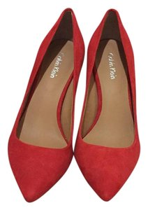 Calvin Klein Red Pumps