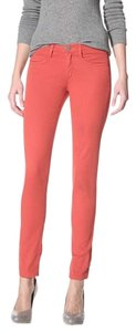 Other Denim Color Pop Bright Ankle Flattering Skinny Jeans