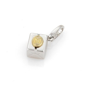 Cartier Cartier Gift Box Double C Charm in 18k 2 Tone Gold.