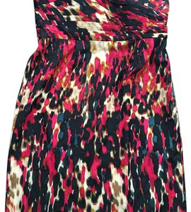 Ann Taylor short dress Black, red, cream on Tradesy