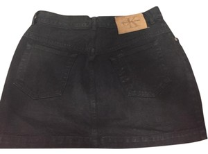 Calvin Klein Mini Skirt Black