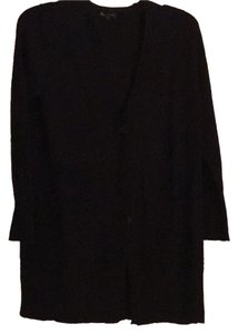 Eileen Fisher Wool Crepe Cardigan Sweater
