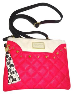 Betsey Johnson Double Compartment Cross Body Bag