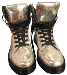 Dr. Martens Silver Athletic