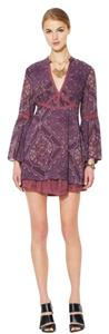 Free People short dress Plum Combo on Tradesy