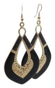 Other Light Weight Black Drop Fashion Earrings w Free Shipping