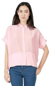 Everlane Silk Summer Top Pink