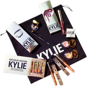 Kylie Cosmetics Kylie Cosmetics Complete Birthday Collection Bundle Limited Edition