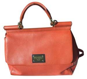 Dolce&Gabbana Misssicily Satchel in Orange