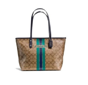 Coach Tote in Brown/Midnight