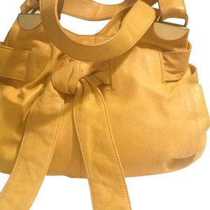 Kooba Satchel in Yellow