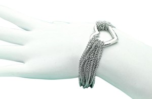 Tiffany & Co. TIFFANY & CO. Multi Strand Open Heart Bracelet
