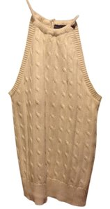 Ralph Lauren Sweate Beige Halter Top