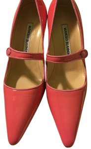 Manolo Blahnik Candy Pink Pumps