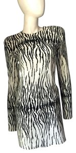 Thierry Mugler Mugler Bugler Zebra Dress