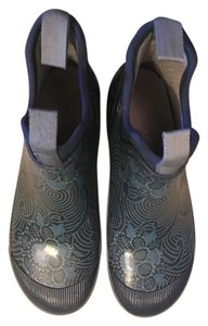 Bogs Chelsea Waterproof Rainboot Blue batik Boots