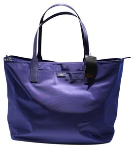 Tumi Q-carry All Carry On Tote in BLUE