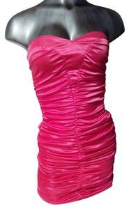 Ruby Rox Hot Strapless Lined Dress